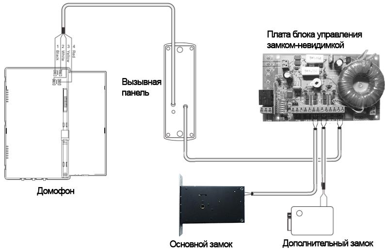 Домофон метаком схема подключения фото 432